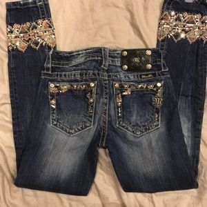 Miss Me Jeans size 24 Signature Cuffed Skinny